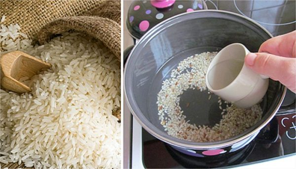 rice-water