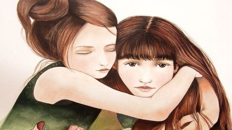 A Sister Is More Than A Friend, Is Half Of Our Heart